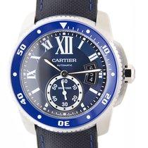 Cartier Calibre De Cartier Stainless Steel Blue Automatic...