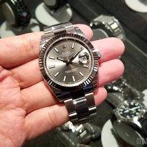 Rolex 126334 Rhodium Index Dial (2017 Novelty) Datejust 41mm