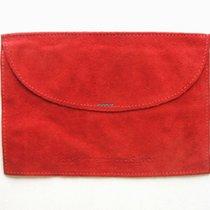 Cartier Pochette / Porta documenti in pelle rossa
