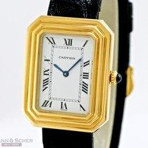 Cartier Vintage Gentleman´s Watch Galbé 18k Yellow Gold Bj- 1975