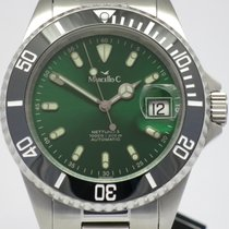 "Marcello C. ""Nettuno 3"" Green dail/ceremic bezel. New,..."