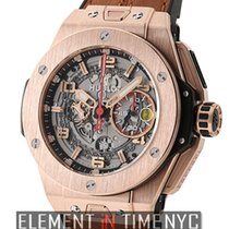 Hublot Big Bang Ferrari King Gold 45mm 18k Rose Gold Limited...