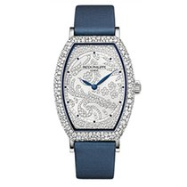 Patek Philippe 7099G-001 White Gold Ladies Gondolo [NEW]