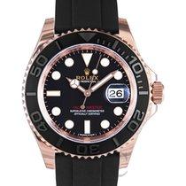 ロレックス (Rolex) Yacht-Master Black/Everose Gold Ceramic 40mm -...