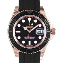 勞力士 (Rolex) Yacht-Master Black/Everose Gold Ceramic 40mm - 116655