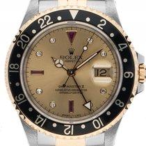 ロレックス (Rolex) GMT Master II Sultan Stahl Gelbgold Diamond...