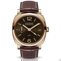 Panerai PAM00570 Radiomir 1940 GMT 18k Rose PAM 570 Manual...