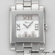 Chopard Happy Sport 278496 Medium Stahl Diamanten 2012