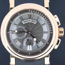 Breguet Marine Chronograph Pink Gold Black Dial 42MM  Full Set...