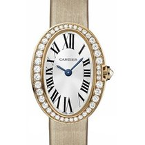 Cartier WB520028 Baignoire Mini - Diamond Bezel - Rose Gold on...