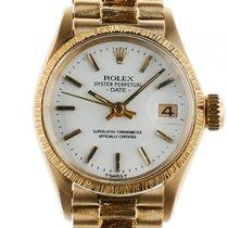 Rolex Datejust Lady Rindengravur 18kt Gelbgold Automatik...