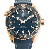 Ωμέγα (Omega) Seamaster Planet Ocean 18K pink gold blue