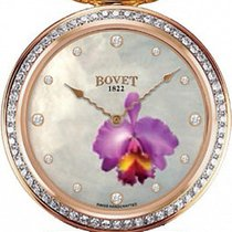 Bovet Amadeo Fleurier Mille Fleurs Pansy 18K Rose Gold &...