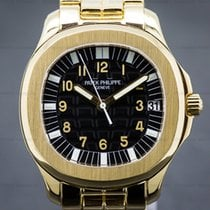 Patek Philippe 5065/1J 5065J Large Aquanaut 18K Yellow Gold /...