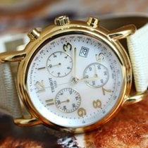 티쏘 (Tissot) Carson Ladies Chronograph 18K GOLD Case