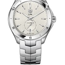 TAG Heuer Calibre 6 Link Silver Dial Watch
