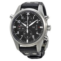 IWC Men's IW377801 Double Pilots Chronograph Watch