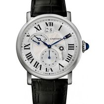 Cartier W1556368 Rotonde de Cartier Retrograde Time Zone in...