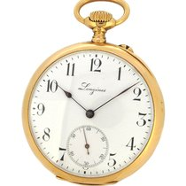 浪琴 (Longines) 18K Gold Pocket Watch 5th Paris Grands Prix,...