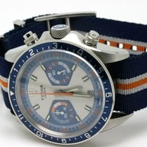 Tudor Heritage Chronograph Blau 07.2016