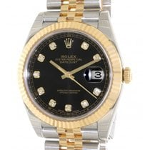 Rolex Datejust 126333 In Steel And Gold With Diamond, 41mm