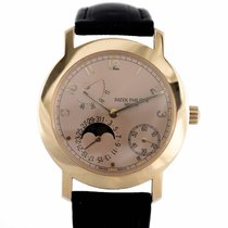 Patek Philippe Complications Moonphase Power Reserve Rose gold