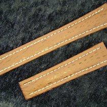 Breitling Haiarmband 19/16mm In Brown Braun Für Faltschliesse
