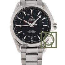 Omega Seamaster Aqua Terra 150m co-axial GMT 43mm black  dial
