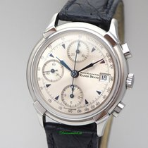 Rainer Brand Chronograph Axion Automatik, Stahl/ Leder