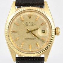 Rolex Datejust Gelbgold 18Karat Top Zustand
