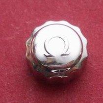 Omega Krone in Stahl, Ø 6,50mm, Höhe 3,5mm, Gewinde 0,9mm,...