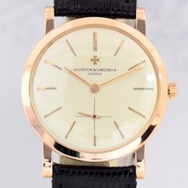 Vacheron Constantin 18K Vintage Pink Gold Rosé small second...
