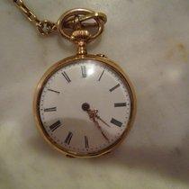 Savonette - Kleine goldene Taschenuhr