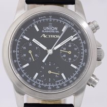 Union Glashütte Actros Chronograph black Mercedes Benz limited...