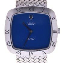 Rolex Cellini 18k White Gold Vintage Ladies Wrist Watch