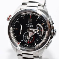 TAG Heuer Grand Carrera Chronograph Papiere 2013 CAV5115BA09