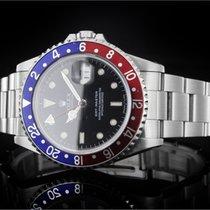勞力士 (Rolex) GMT-Master (40mm) Ref.: 16700 mit schwarzer...
