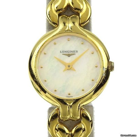 4757d2fd4bf Longines Women s Quartz Wrist Watch Shell Dial L 6.120.2 for  254 for sale  from a Trusted Seller on Chrono24