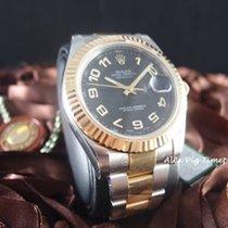 勞力士 (Rolex) 116333 2-Tone Datejust II Black Arabic Dial [N E W]