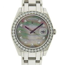 Rolex Day Date 39 MM Masterpiece MOP Diamond