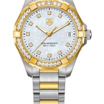 TAG Heuer Aquaracer Ladies 300M Steel and Yellow Gold 32MM