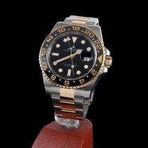 Rolex gmt-master II steel and gold ceramic