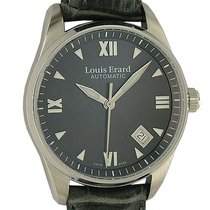 Louis Erard Heritage Stahl Date Automatik 36mm