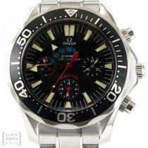 Omega Uhr Seamaster Chronograph Americas Cup Racing Revision...