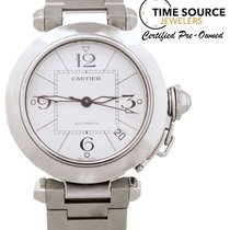 Cartier Pasha Automatic Stainless Steel White Dial 35mm 2324...