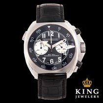 Chronographe Suisse Cie Mangusta Supermeccanica with Leather Band