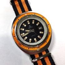 Ebel Nautic Automatic Steel Men's Watch W/ Rotating Bezel,...
