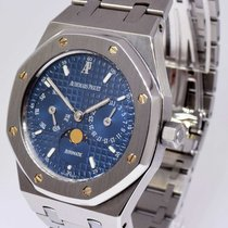 Audemars Piguet Royal Oak Day Date Moon Watch & Box 36mm...