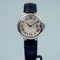 Cartier Ballon Bleu 36 mm Automatik Leder -NEU-