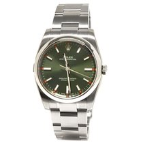 Rolex Oyster Perpetual 34mm Olive Green